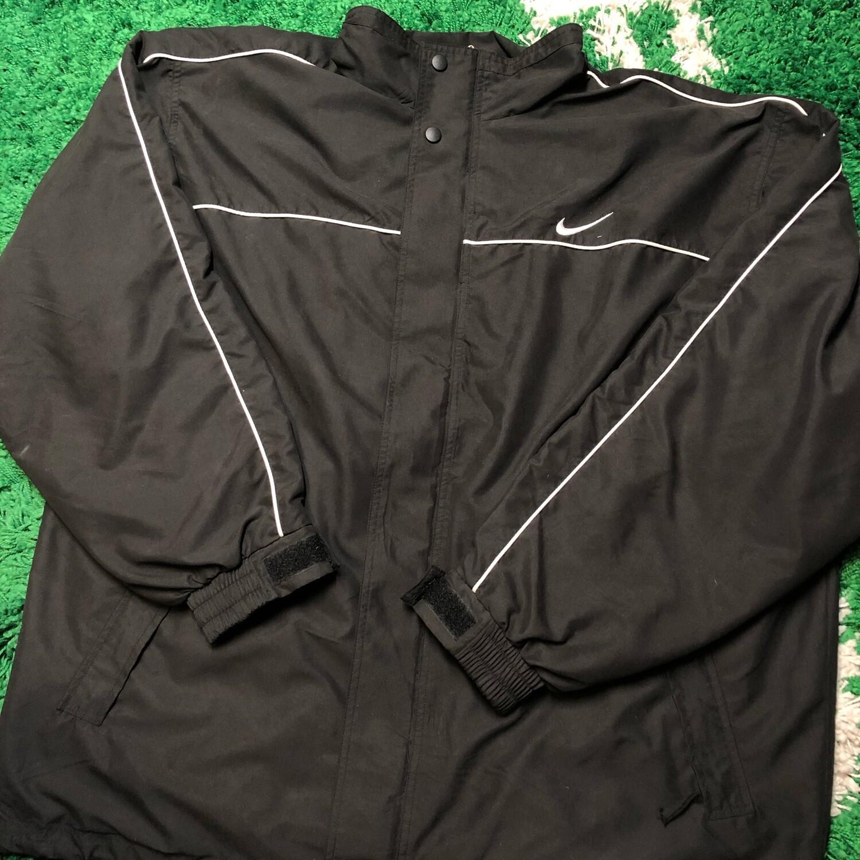 Vintage Nike Jacket Black/White Size XL
