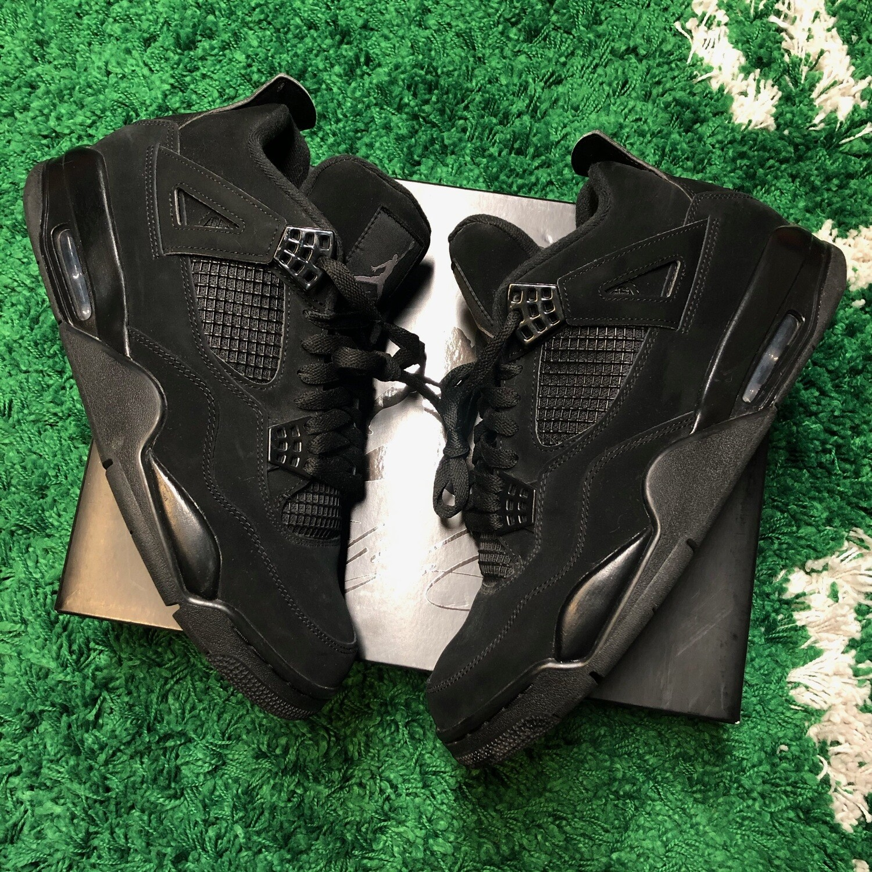 Air Jordan 4 Retro Black Cat (2020) Size 10.5