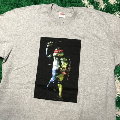 Supreme Raphael Tee Heather Grey Size Large