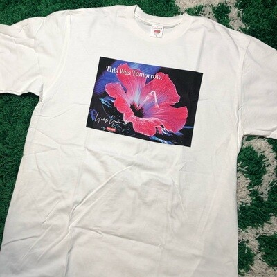 Supreme Yohji Yamamoto This Was Tomorrow Tee White Size Large