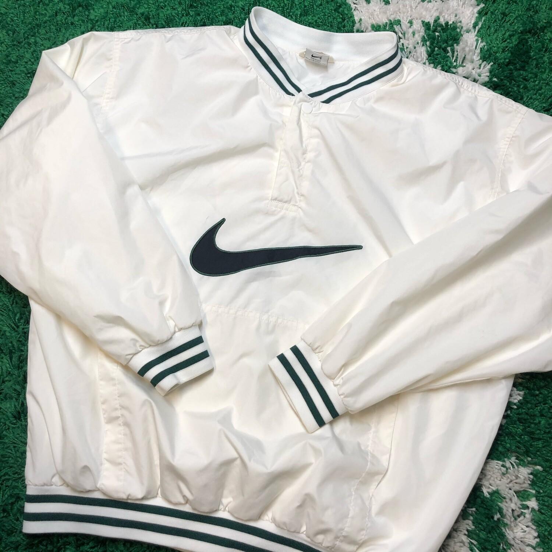 Nike Pullover Vintage Jacket Large Swoosh Size Large