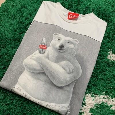 Vintage Coca-Cola Bear Shirt Size XXL