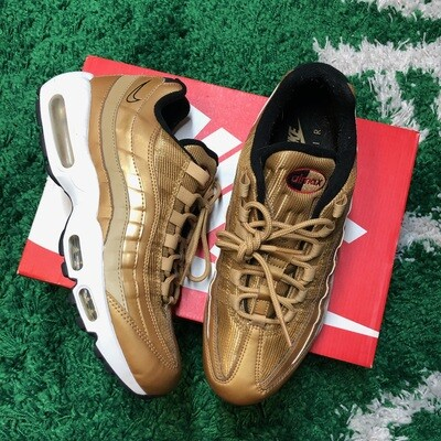 Nike Air Max 95 Metallic Gold Size 9