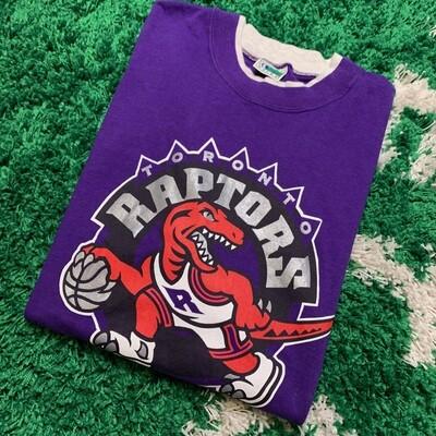 Vintage Toronto Raptors Tee Purple Size XL/XXL