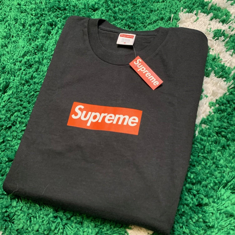 Supreme San Francisco Box Logo Tee Black Size Medium