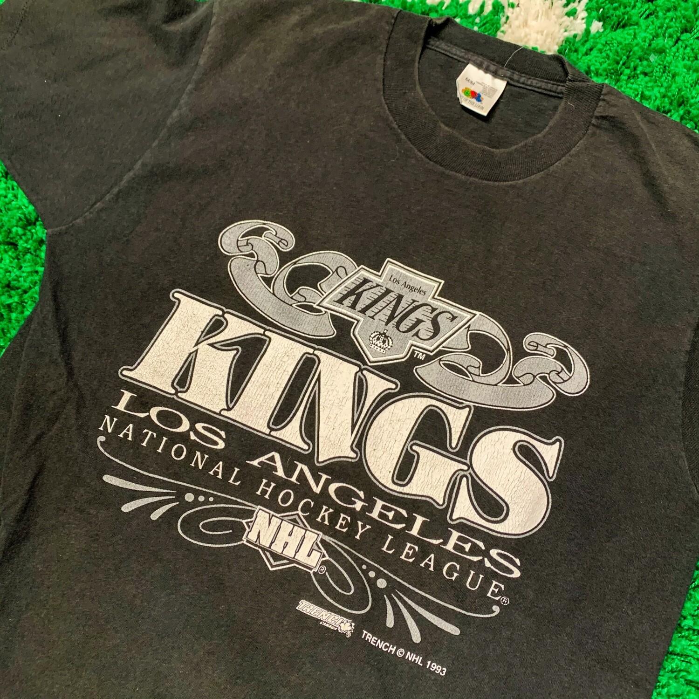 LA Kings 1993 Tee Black Size Medium