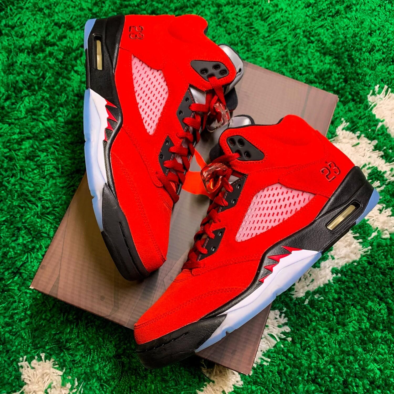 Jordan 5 Retro Raging Bull Red (2021) Size 10