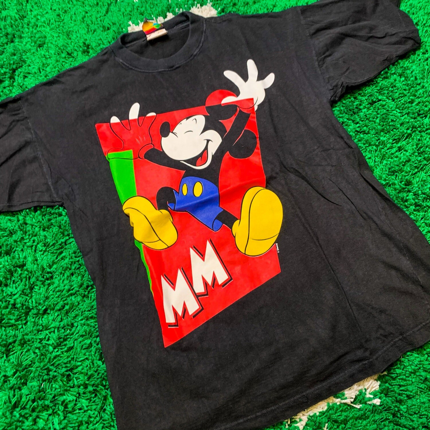 Mickey Mouse MM Tee Size Large