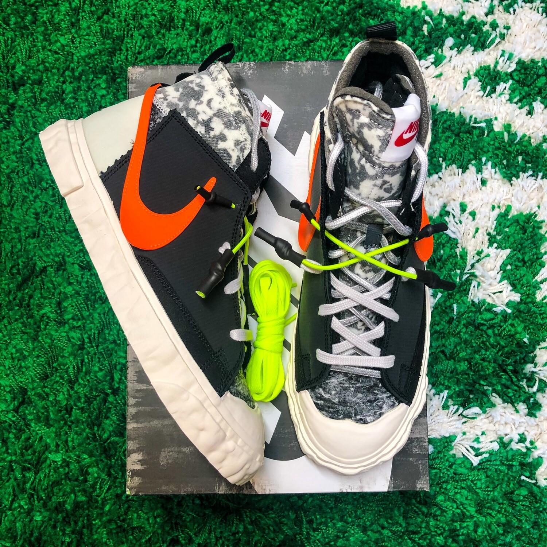Nike Blazer Mid READYMADE Black Size 8