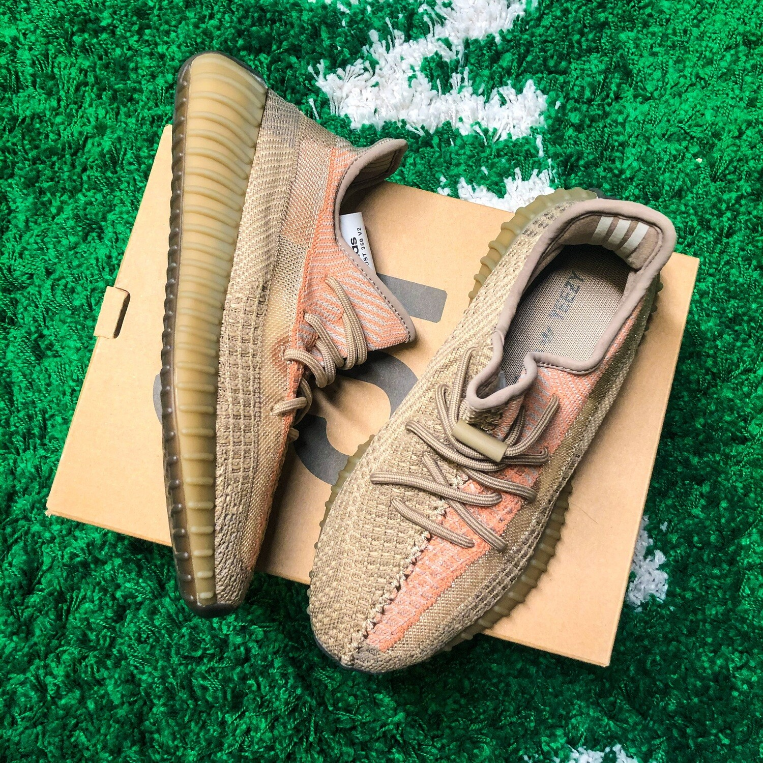 adidas Yeezy Boost 350 V2 Sand Taupe Size 8