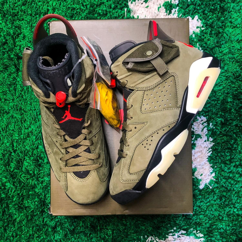 Air Jordan 6 Retro Travis Scott Size 8