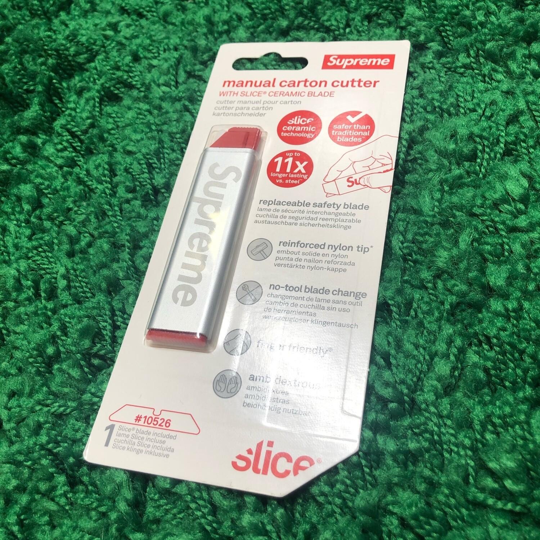 Supreme Slice Manual Carton Cutter Silver