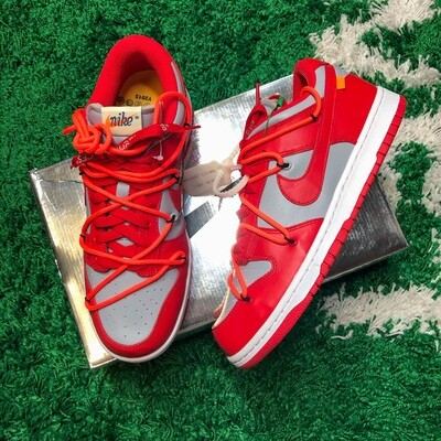 Nike Dunk Low Off-White University Red Size 8.5