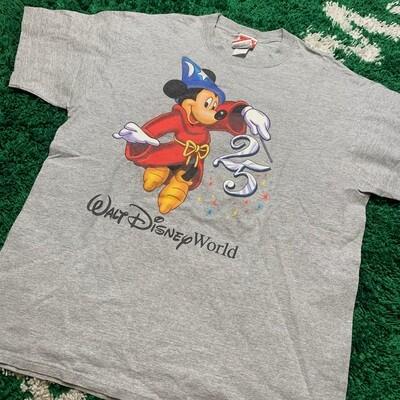Walt Disney World Grey Tee Size XL