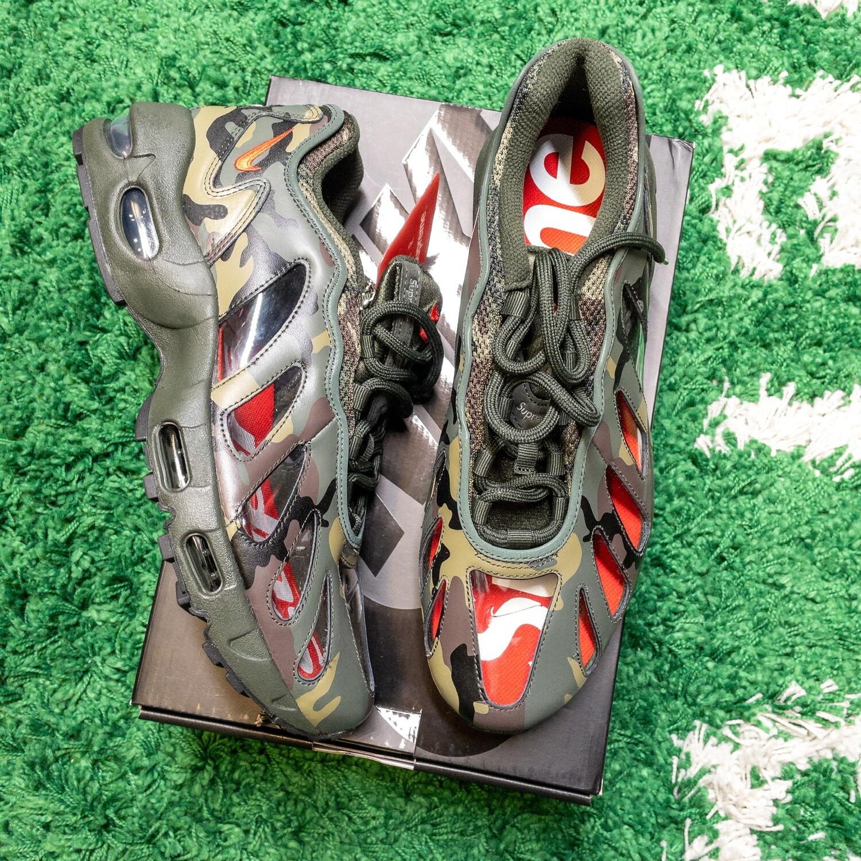 Nike Air Max 96 Supreme Camo Size 10.5