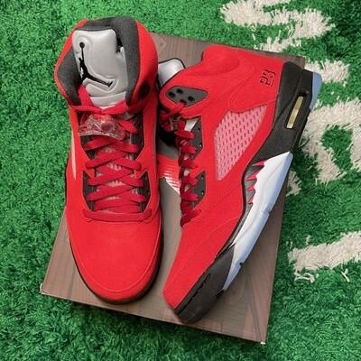 Air Jordan 5 Retro Raging Bull Red (2021) Size 12