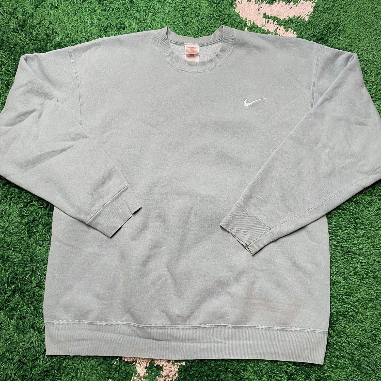 Nike Pocket Swoosh Sweater Teal Size XXL