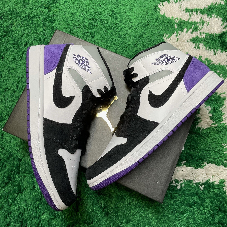 Air Jordan 1 Mid SE Purple Size 12