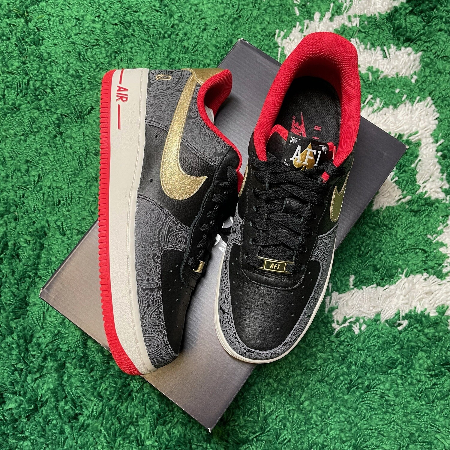 Nike Air Force 1 Low Spades Size 7