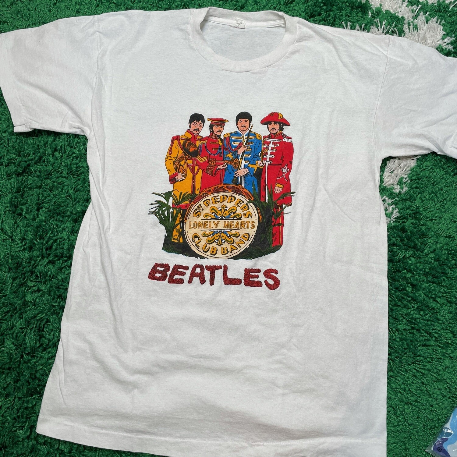 The Beatles Lonely Hearts Tee Size Large