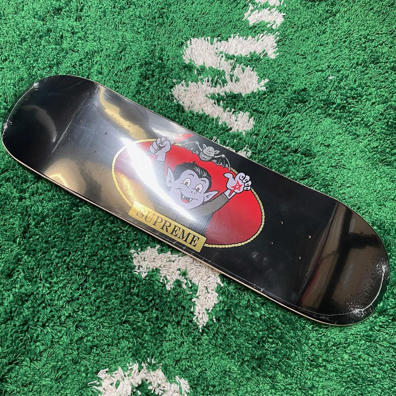 Supreme Vampire Boy Skateboard Black