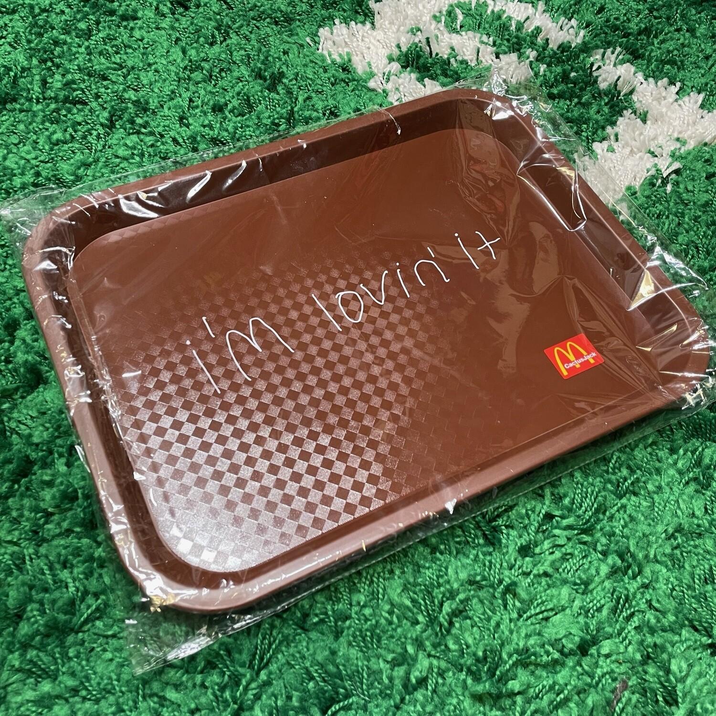 Travis Scott x McDonalds I'm Lovin' It Lunch Tray
