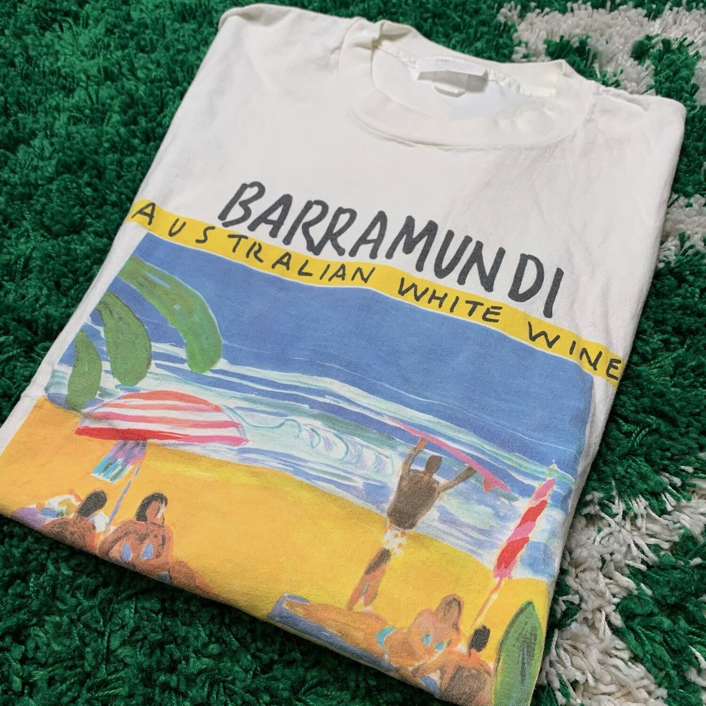 Barramundi Wine Tee Size Large