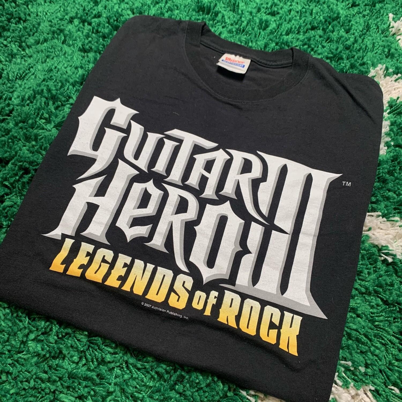 Guitar Hero 3 Legends of Rock 2007 Tee Size XL