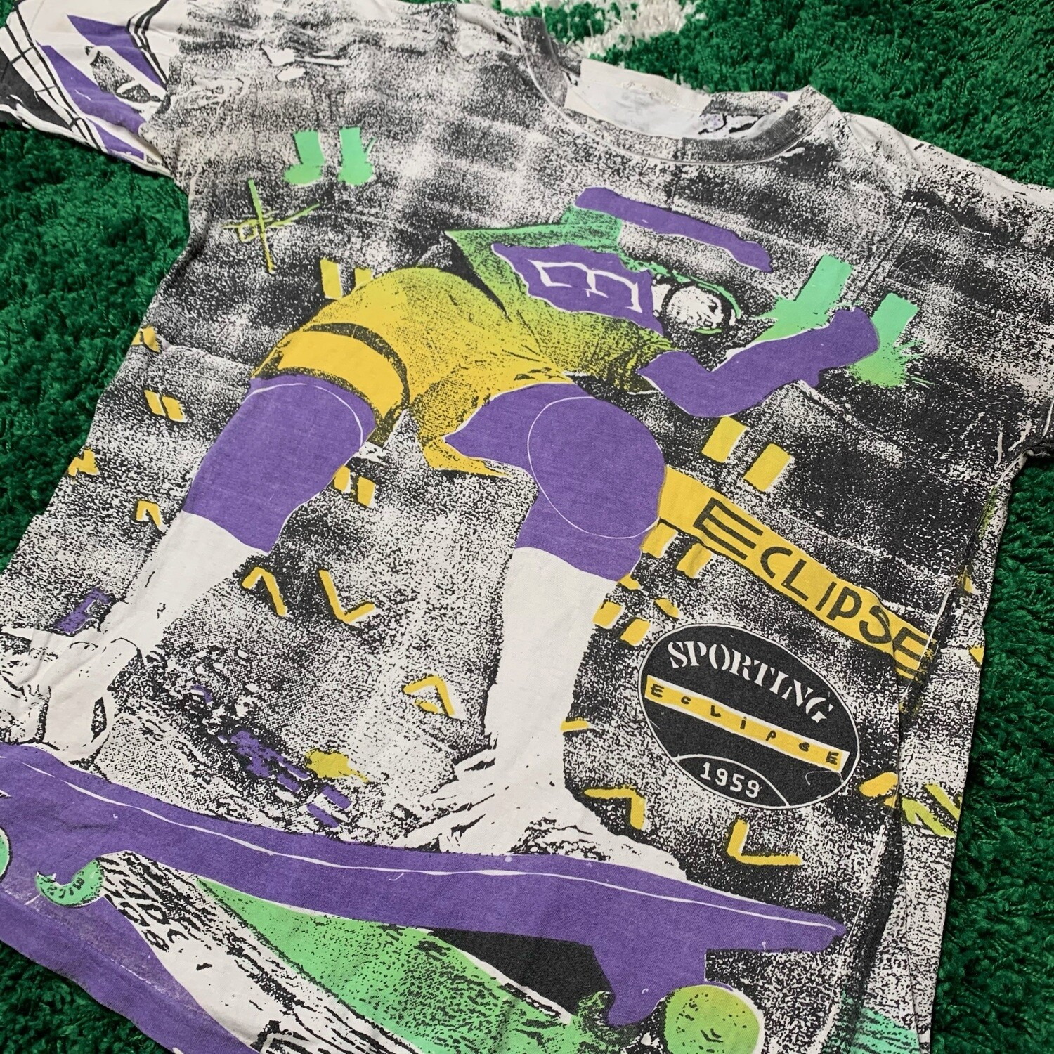 Sporting Eclipse All over Print Skate Tee Size XL