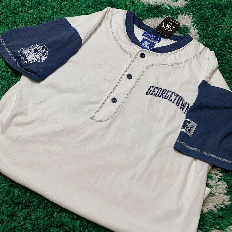 Georgetown Hoyas Baseball Jersey Size Large