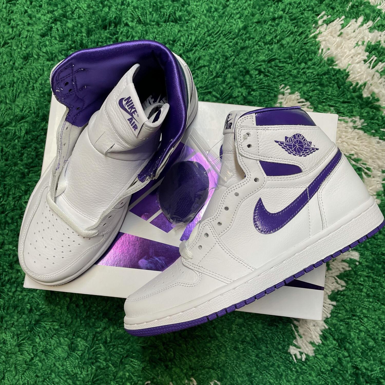 Air Jordan 1 Court Purple W Size 6.5W/5M