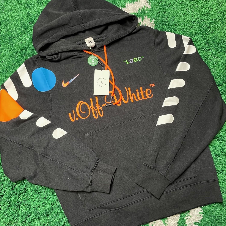 Nikelab x OFF-WHITE Mercurial NRG X Hoodie Black Size Medium