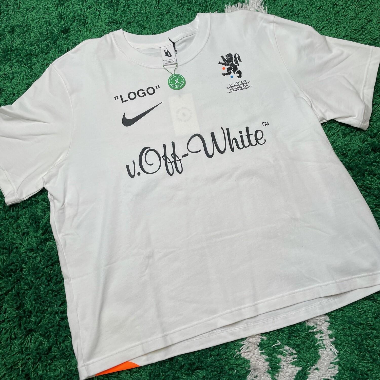 Nikelab x OFF-WHITE Mercurial NRG X Tee White Size Medium