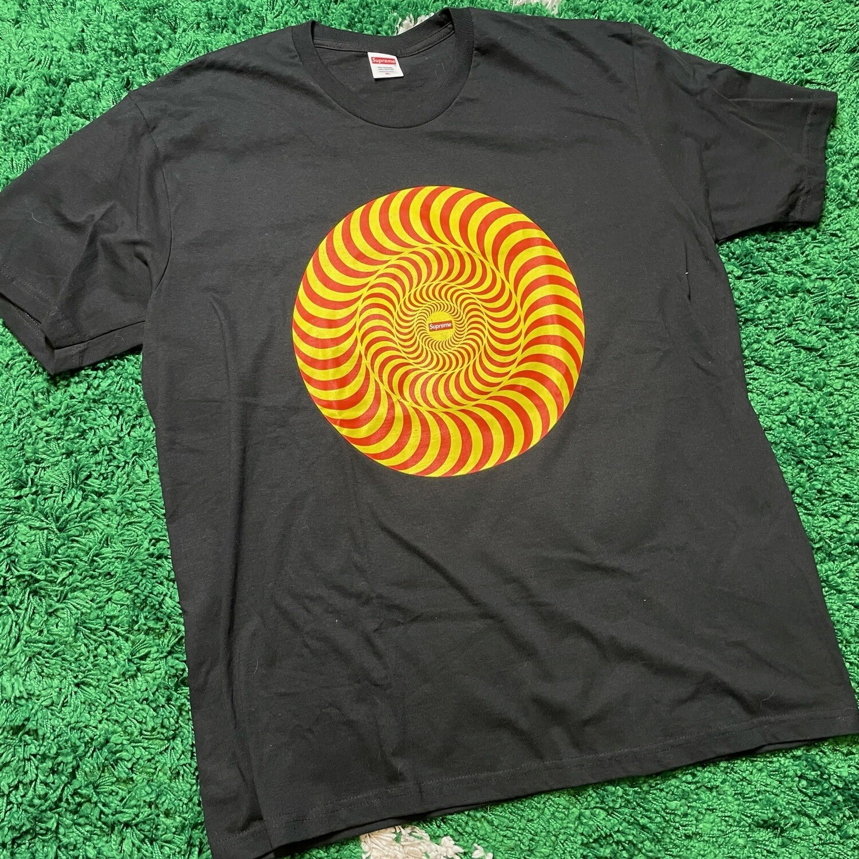Supreme Spitfire Classic Swirl T-Shirt Black Size XL
