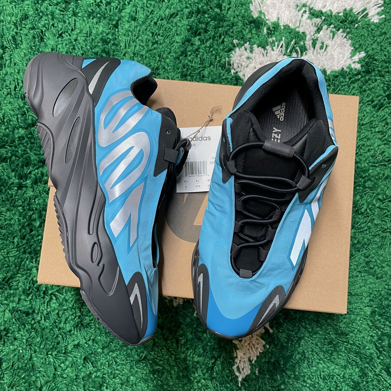 Adidas Yeezy Boost 700 MNVN Bright Cyan Size 9