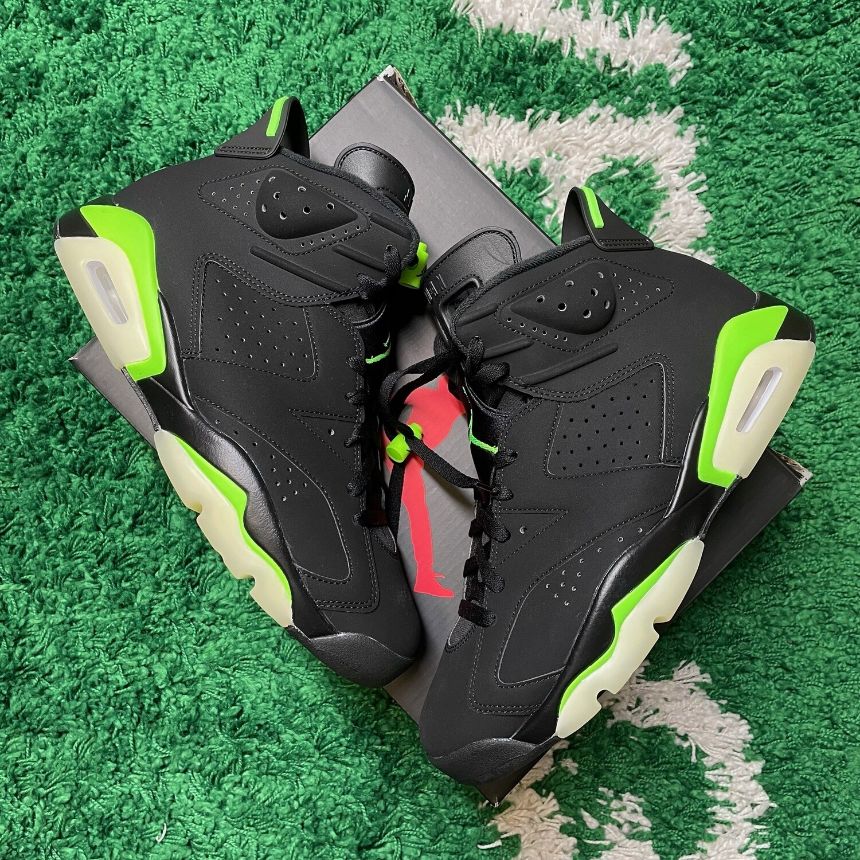 Air Jordan 6 Retro Electric Green Size 10