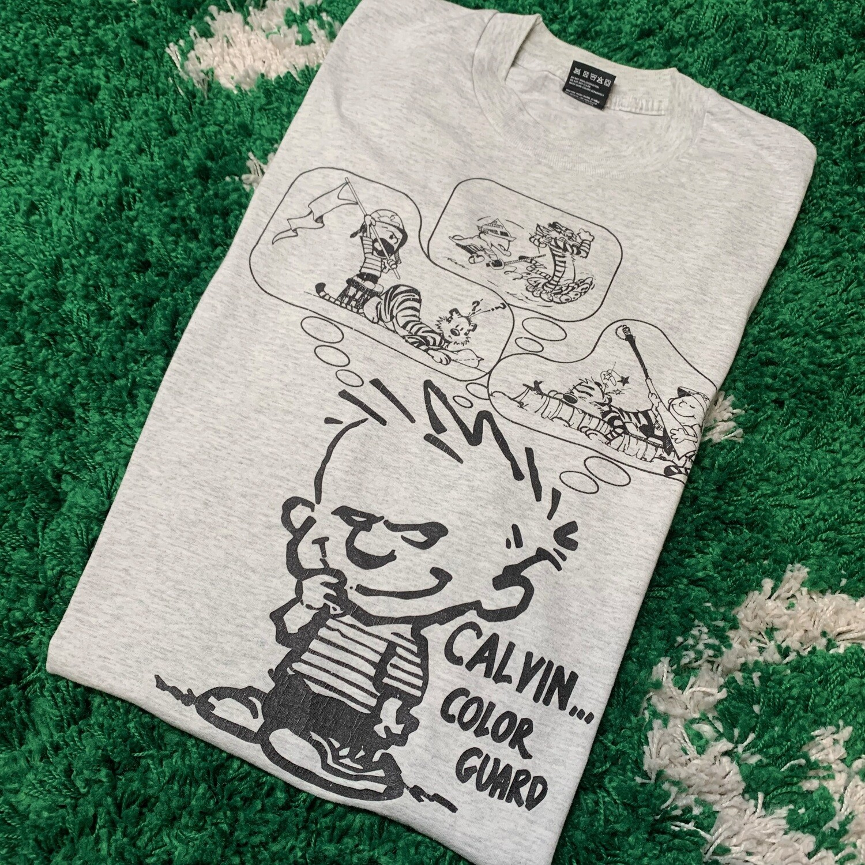 Calvin... Color Guard Tee Size XL