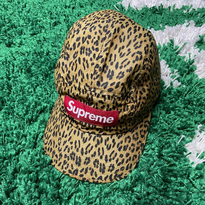 Supreme Barbour Waxed Cotton Camp Cap Leopard
