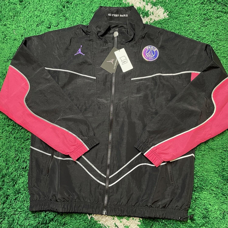 Jordan PSG Sample Windbreaker Jacket Size Large