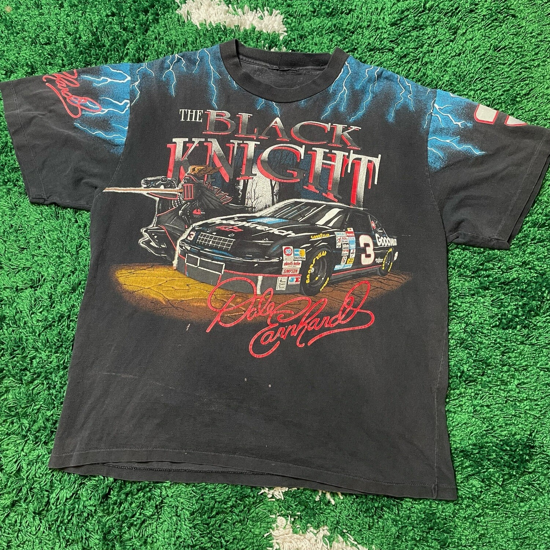 Dale Earnhardt Black Knight Lightning Nascar Tee Size XXL