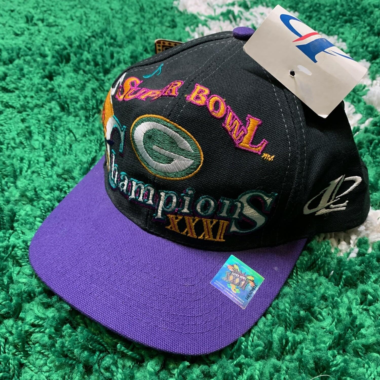 Green Bay Super Bowl Champions Hat Deadstock