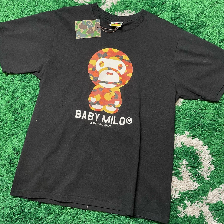 Baby Milo A Bathing Ape City Camo Tee Size Large
