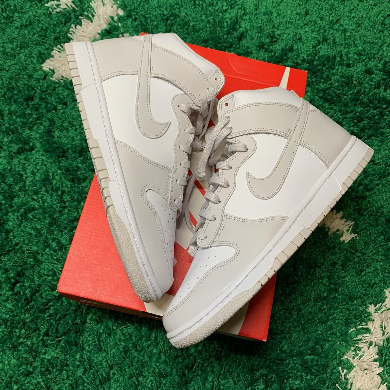 Nike Dunk High Retro White Vast Grey (2021) Size 11.5