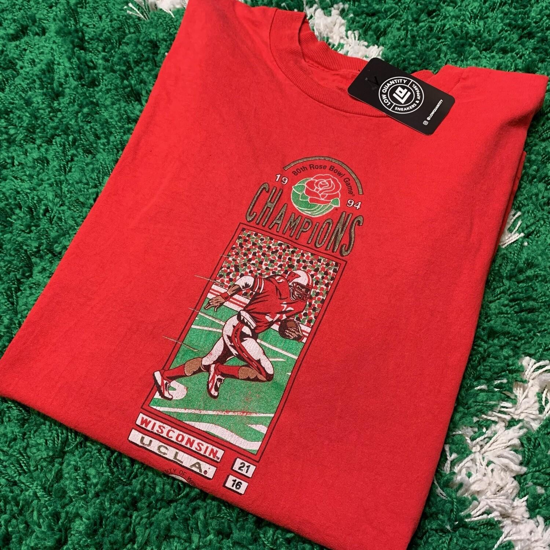 1994 Wisconsin vs UCLA Rose Bowl Tee Size XL
