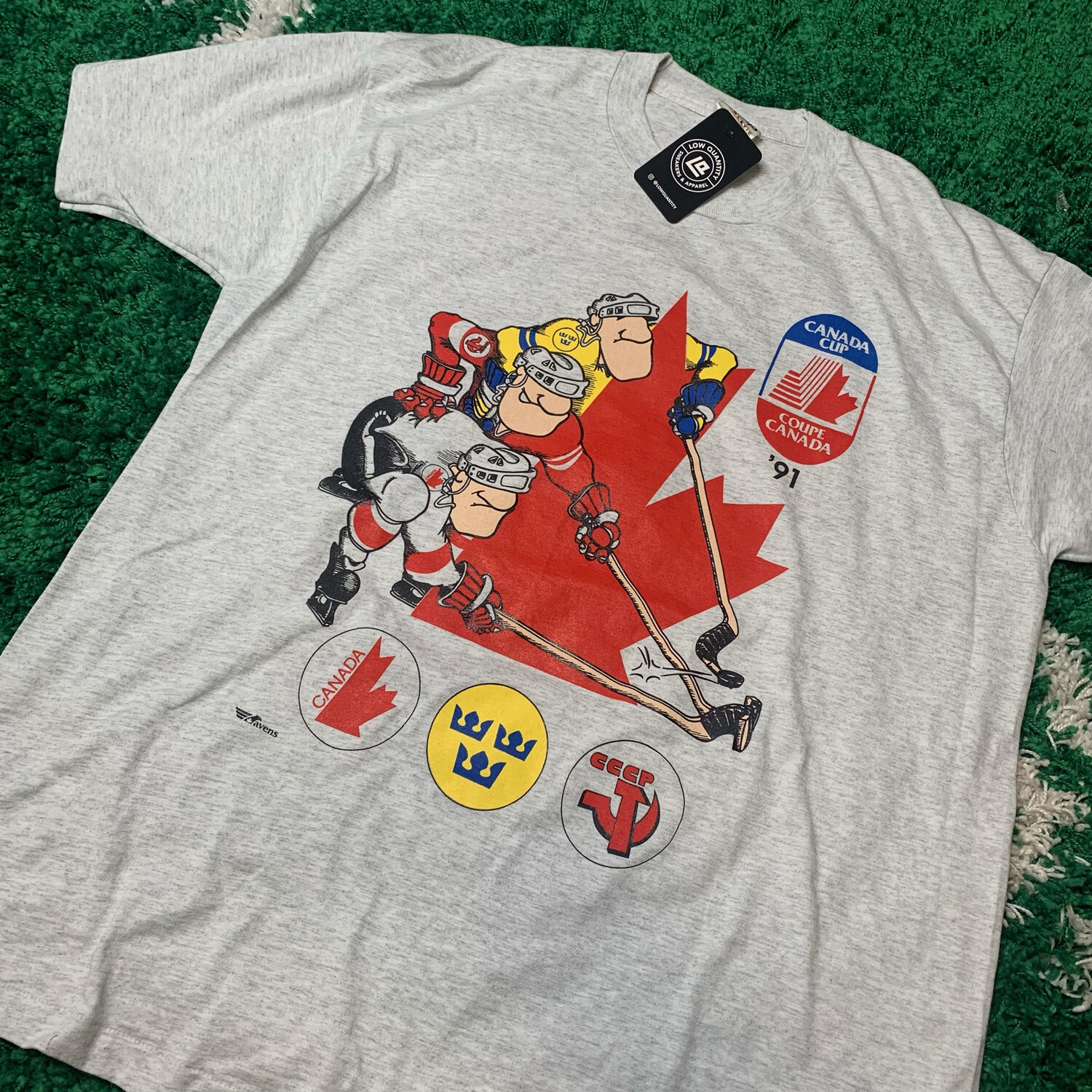 Canada Cup 1991 Tee Size XL