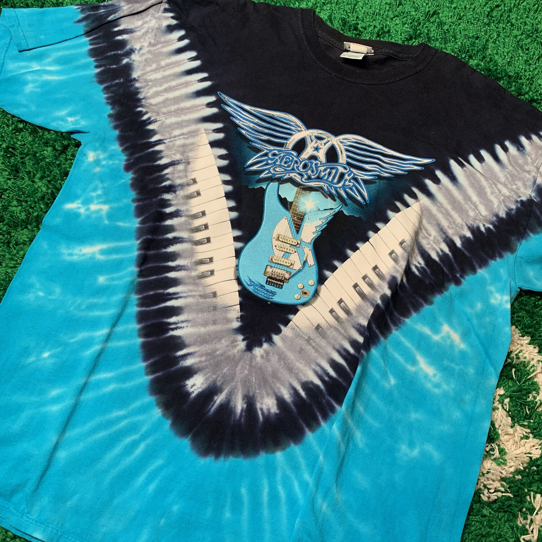 Aerosmith Tie Dye Shirt Size XXL