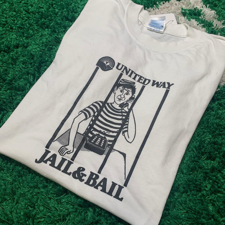 United Way Jail & Bail Tee Size XL