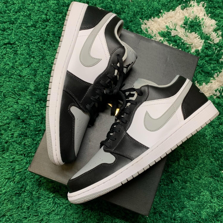 Air Jordan 1 Low Black White Grey Size 11