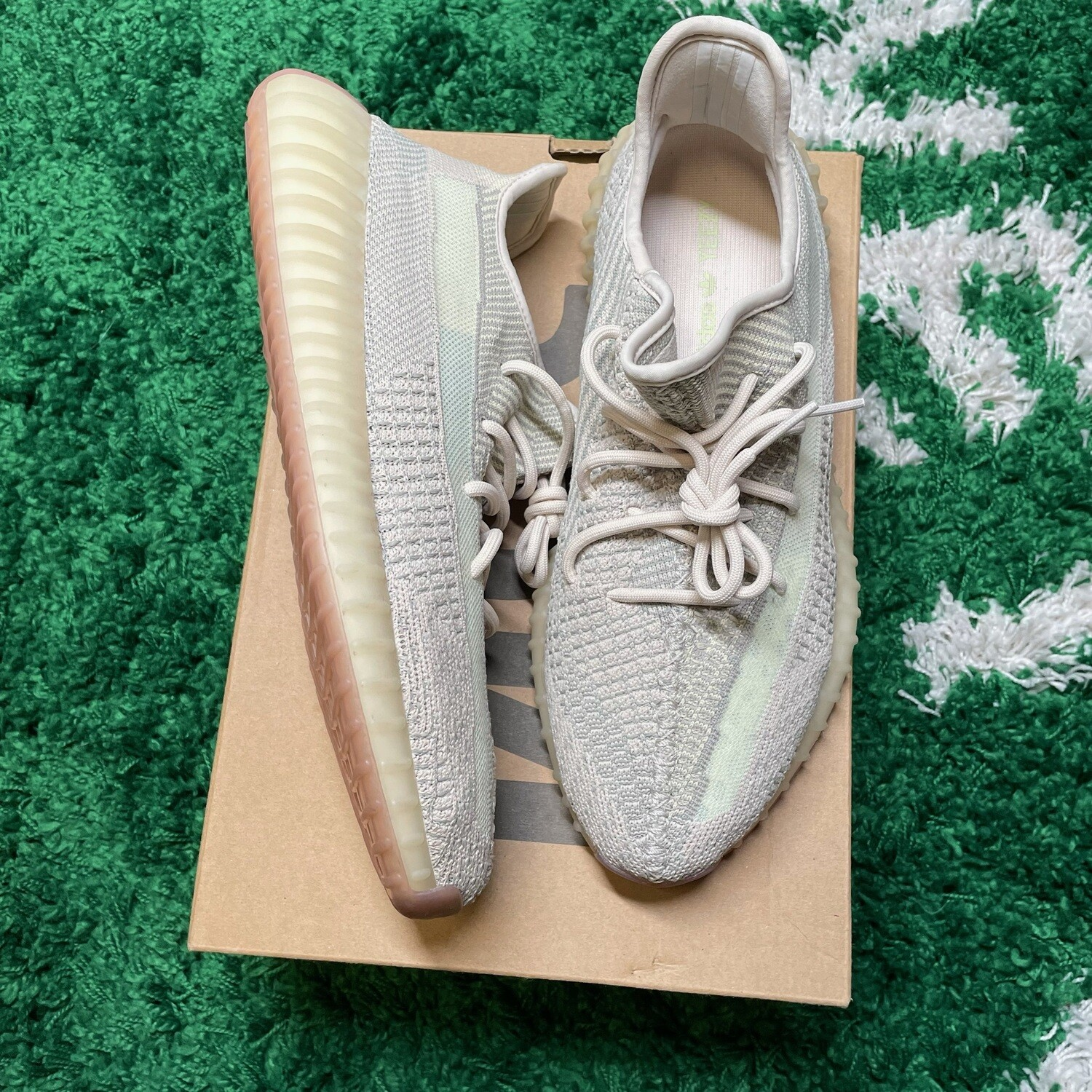 Adidas Yeezy Boost 350 Citrin Size 12