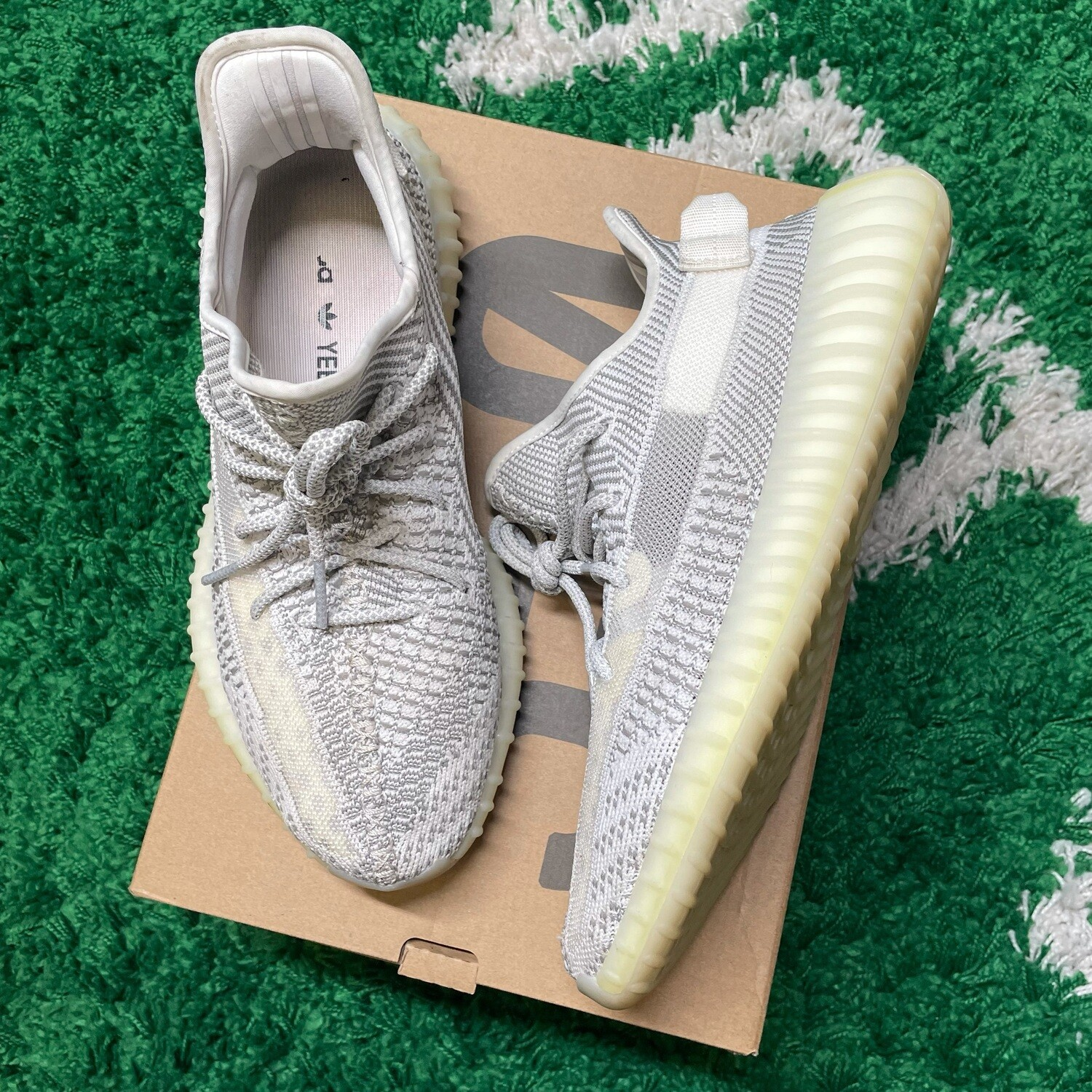 Adidas Yeezy Boost 350 V2 Static (Non-Reflective) Size 9.5